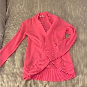 Lilly Pulitzer hot pink Amalie cardigan